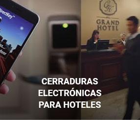 Cerraduras electrónicas para hoteles
